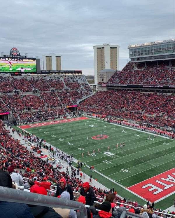 Ohio Stadium, sección: 10C, fila: 15, asiento: 31