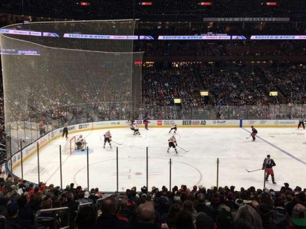 Nationwide Arena, sección: 105, fila: V, asiento: 19
