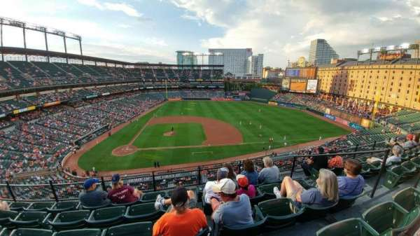 Oriole Park at Camden Yards, sección: 324, fila: 5, asiento: 5