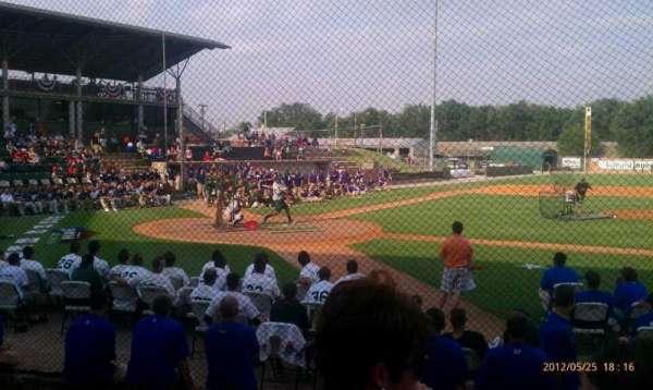 David Allen Memorial Ballpark, sección: 1, fila: 4, asiento: 34
