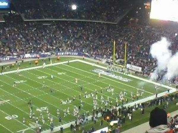 Gillette Stadium, sección: 313, fila: 7, asiento: 8