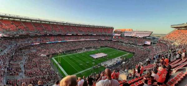 FirstEnergy Stadium, sección: 503, fila: 17, asiento: 2