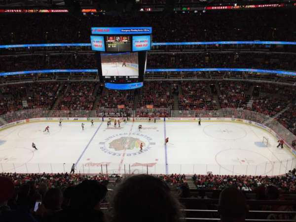 United Center, sección: 317, fila: 2, asiento: 11