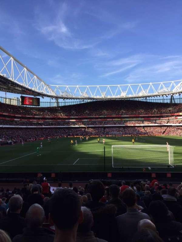 Emirates Stadium, sección: 25, fila: 14