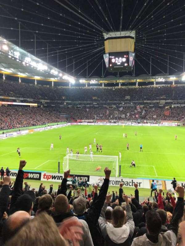 Commerzbank-Arena, sección: 16A, fila: 18, asiento: 12