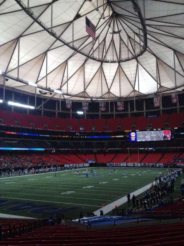 Georgia Dome, sección: 122, fila: 26, asiento: 5