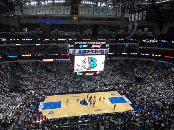 American Airlines Center, sección: 327, fila: G, asiento: 7