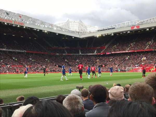 Old Trafford, sección: STH121, fila: EE, asiento: 224