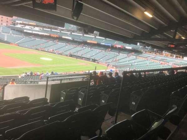 Oriole Park at Camden Yards, sección: 61, fila: 11, asiento: 5