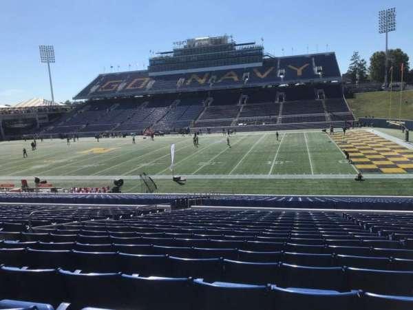 Navy-Marine Corps Memorial Stadium, sección: 26, fila: 19, asiento: 22