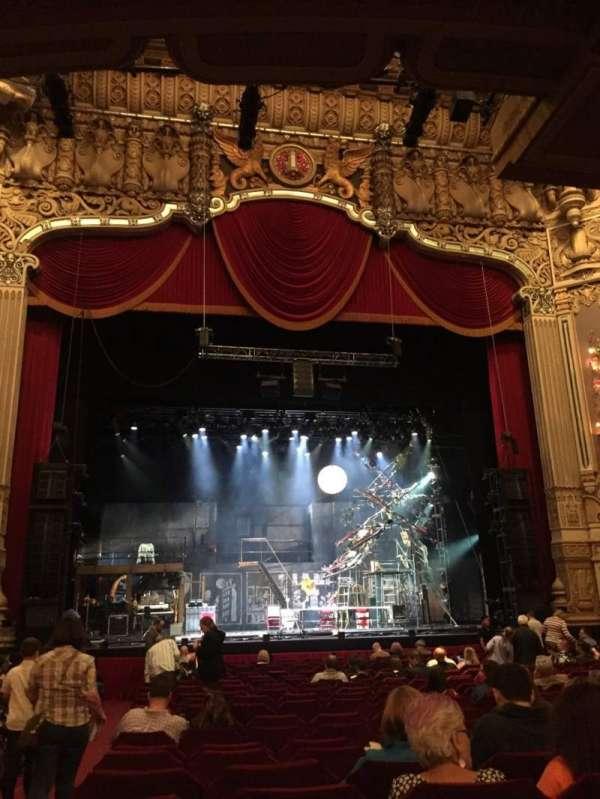 Nederlander Theatre (Chicago), sección: Orchestra C, fila: U, asiento: 101
