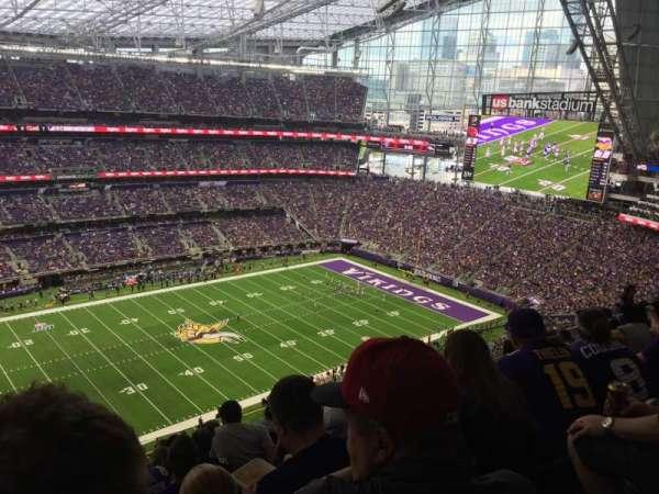 U.S. Bank Stadium, sección: 315, fila: 11, asiento: 26