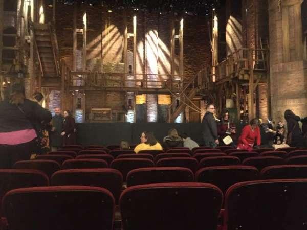 CIBC Theatre, sección: Orchestra C, fila: K, asiento: 103
