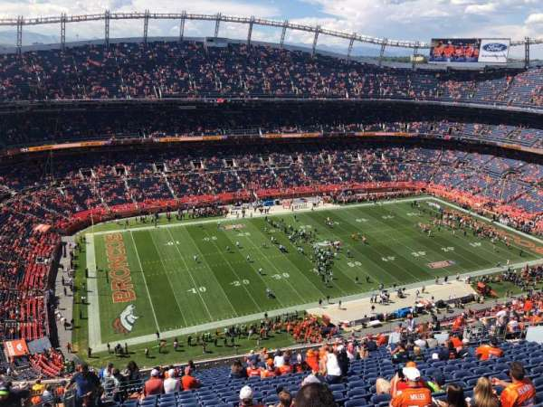 Broncos Stadium at Mile High, sección: 538, fila: 23, asiento: 24