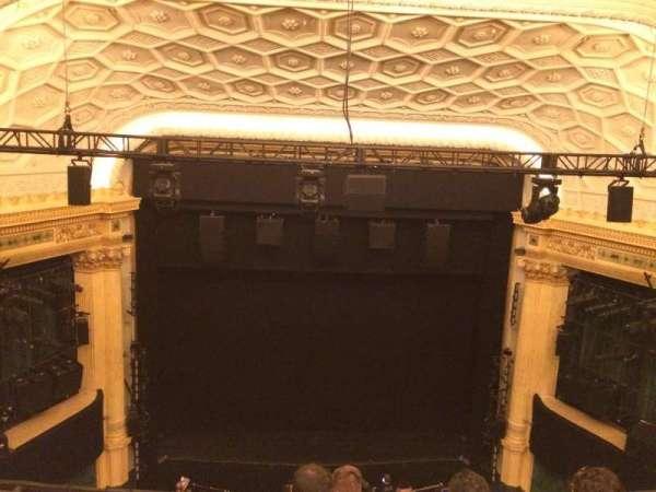 Hudson Theatre, sección: Balcony C, fila: E, asiento: 107