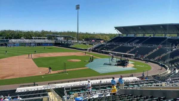 Hammond Stadium at CenturyLink Sports Complex, sección: 216, fila: 12, asiento: 2