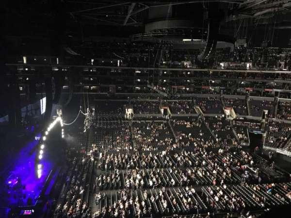 Staples Center, sección: 309, fila: 1, asiento: 6