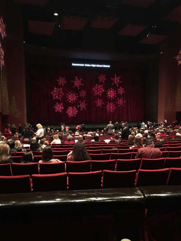 San Diego Civic Theatre, sección: Dress Circle, fila: A, asiento: 29