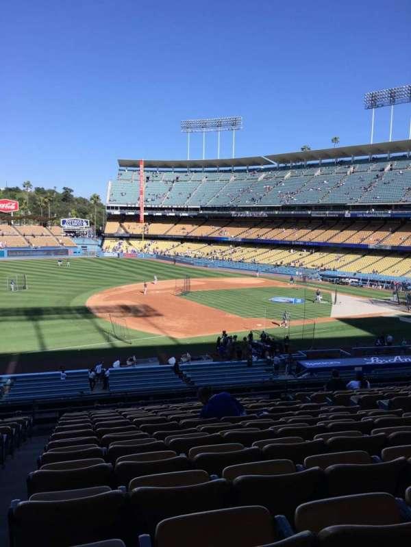Dodger Stadium, sección: 143LG, fila: N, asiento: 8