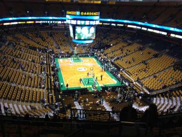 TD Garden, sección: Bal 310, fila: 11, asiento: 1