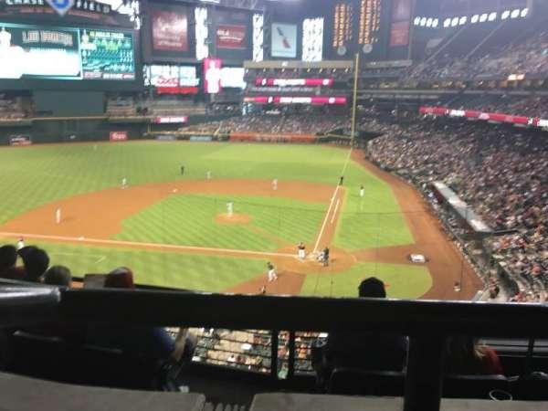 Chase Field, sección: Suite 41, fila: 1, asiento: 6