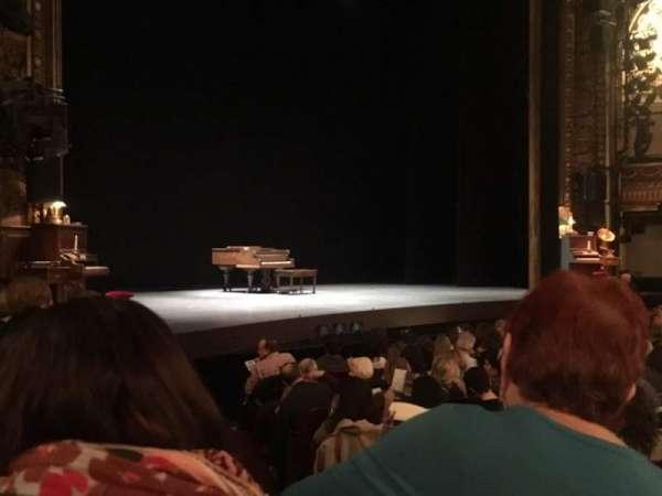 Palace Theatre (Broadway), sección: Orchestra, fila: L, asiento: 2