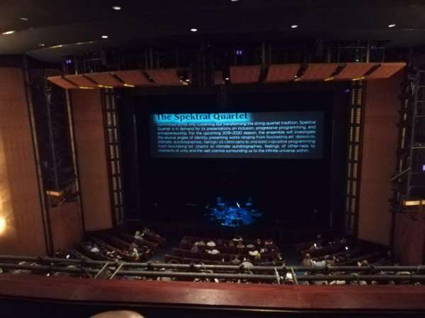 The Kennedy Center Eisenhower Theater, sección: Balcony, fila: C, asiento: 103