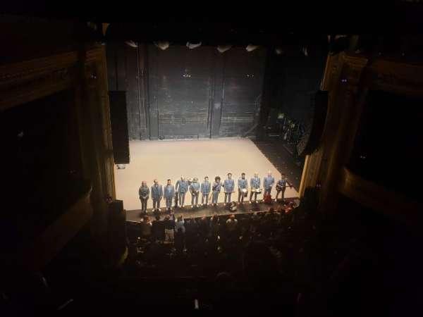 Hudson Theatre, sección: Balcony Center, fila: D, asiento: 101