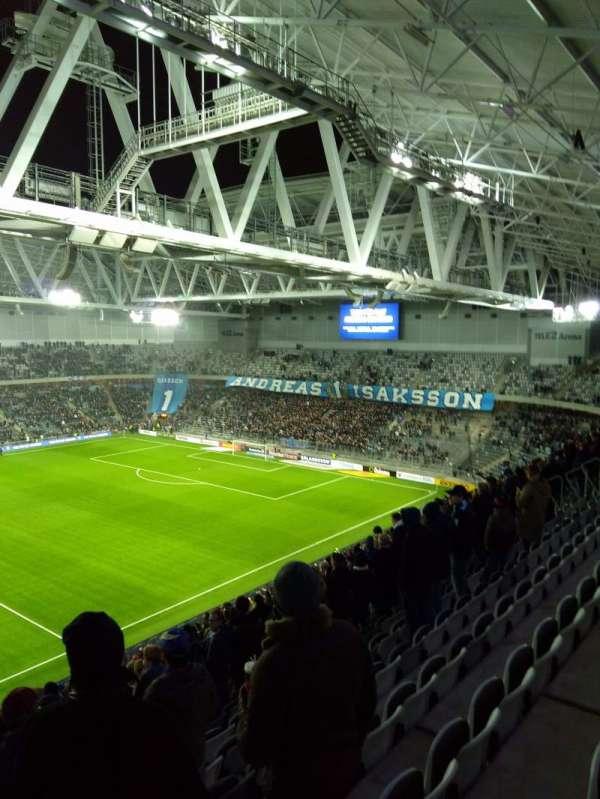 Tele2 arena, sección: 306, fila: 19, asiento: 257