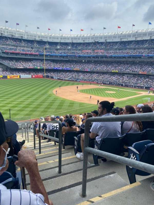 Yankee Stadium, sección: 229, fila: 12, asiento: 1