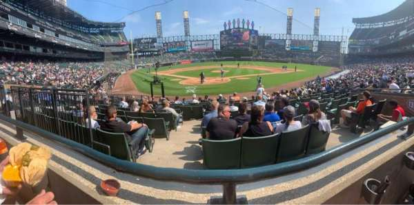 Guaranteed Rate Field, sección: BOX 131, fila: 16, asiento: 6