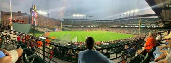 Oriole Park at Camden Yards, sección: 87, fila: 2, asiento: 11