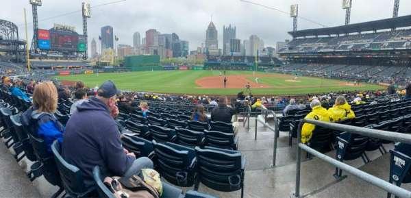 PNC Park, sección: 125, fila: H, asiento: 1