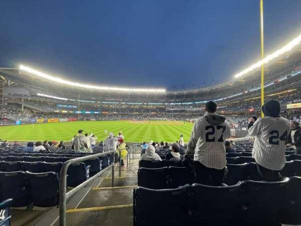 Yankee Stadium, sección: 134, fila: 15, asiento: 19