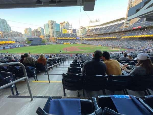 PETCO Park, sección: 112, fila: 38, asiento: 18