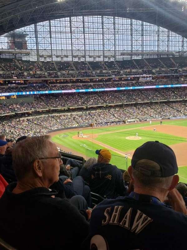 American Family Field, sección: 312, fila: 6, asiento: 7