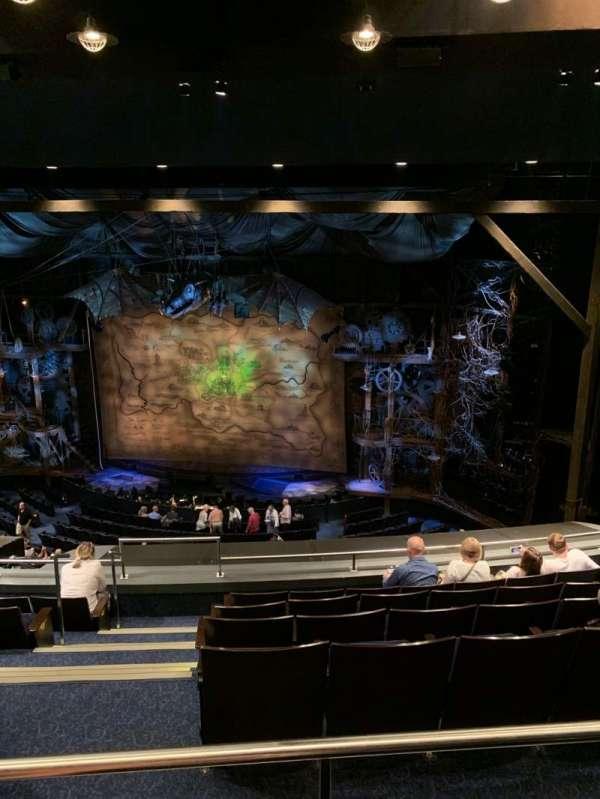 Gershwin Theatre, sección: Rear Mezzanine R, fila: G, asiento: 2, 4