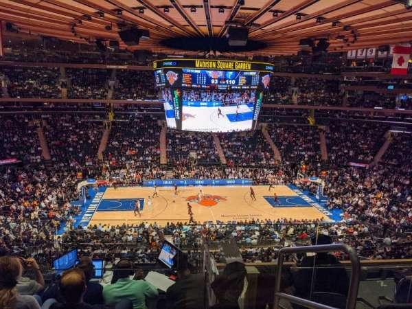 Madison Square Garden, sección: 223, fila: 6, asiento: 22