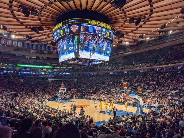 Madison Square Garden, sección: 110, fila: 10, asiento: 8