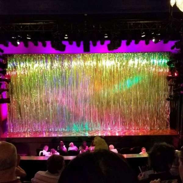 Hayes Theater, sección: Mezzanine C, fila: F, asiento: 106