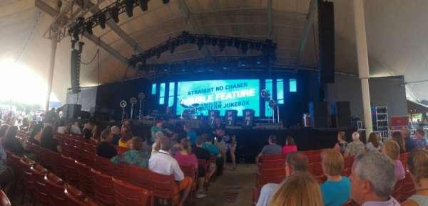 MECU Pavilion, sección: 102, fila: G, asiento: 1