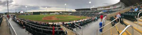 Hammond Stadium at CenturyLink Sports Complex, sección: 216, fila: 1, asiento: 3