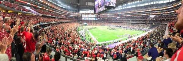 AT&T Stadium, sección: 226, fila: 3, asiento: 15