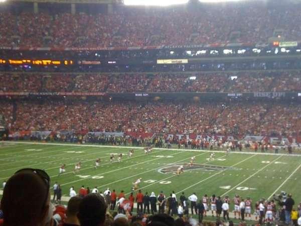 Georgia Dome, sección: 114, fila: 32, asiento: 19