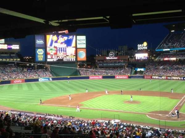 Turner Field, sección: 114, fila: 36, asiento: 1