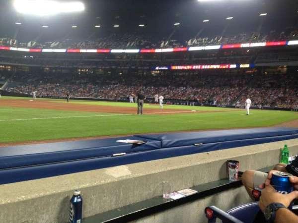 Turner Field, sección: 120L, fila: 2, asiento: 8