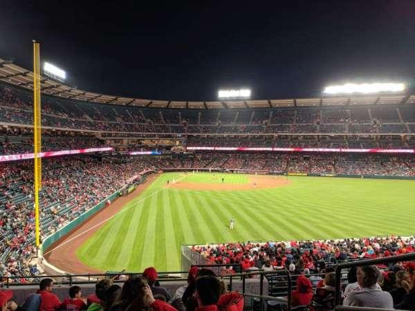 Angel Stadium, sección: P243, fila: J, asiento: 16