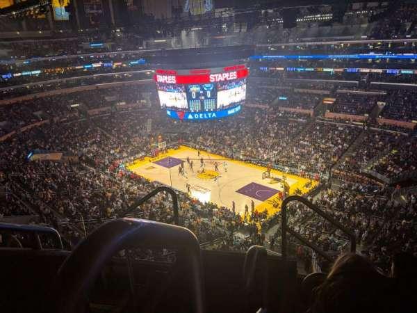 Staples Center, sección: 331, fila: 5, asiento: 22