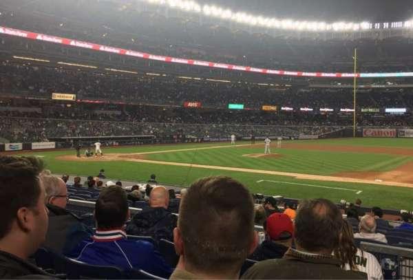Yankee Stadium, sección: 115, fila: 4, asiento: 2