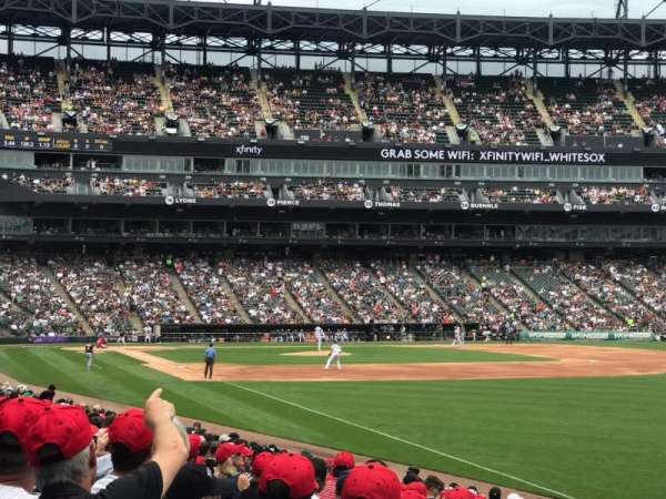 Guaranteed Rate Field, sección: 110, fila: 17, asiento: 10